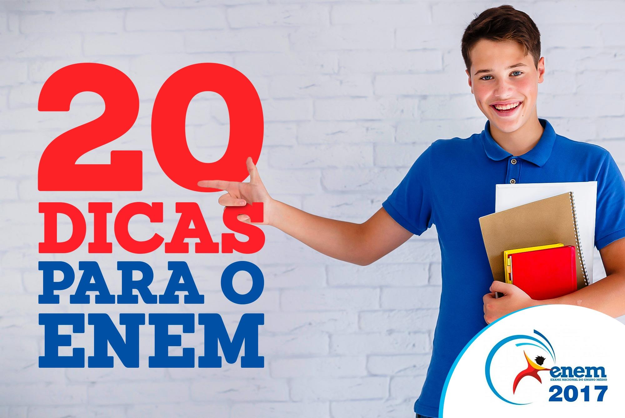 20 Dicas Para A Realização Do ENEM.
