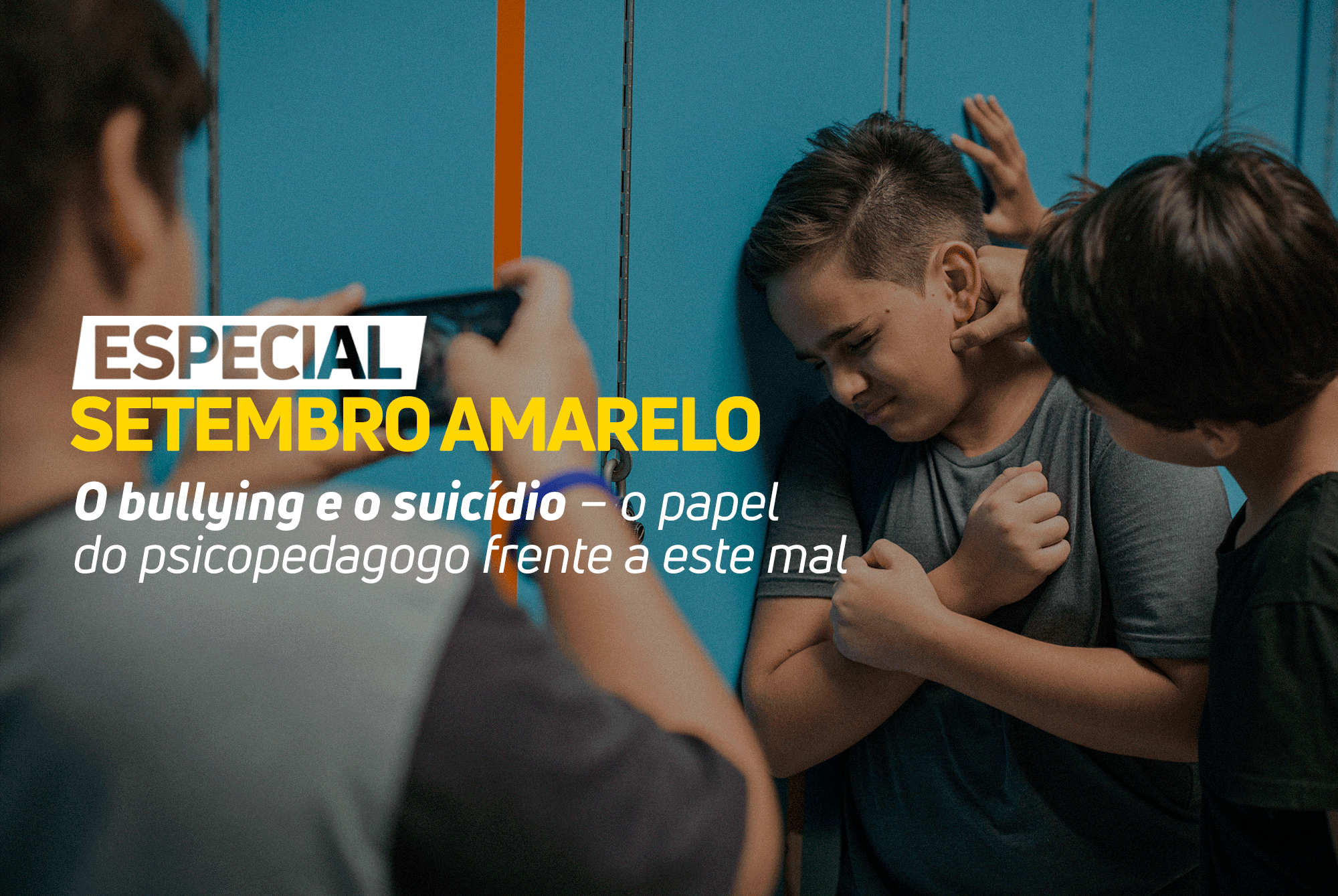 O BULLYING E O SUICÍDIO – O PAPEL DO PSICOPEDAGOGO FRENTE A ESTE MAL